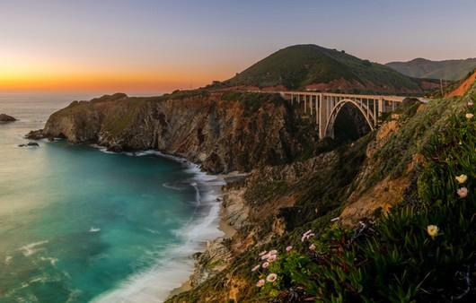 Мост в калифорнии