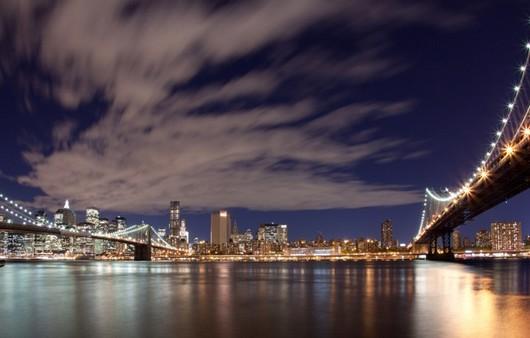 Фотообои Нью-Йорк и мост