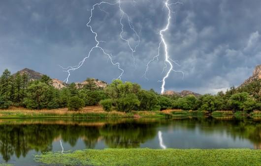 Молния в Аризоне
