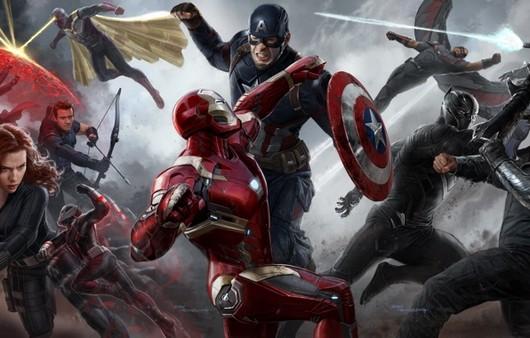 Противостояние железного человека и капитана Америка