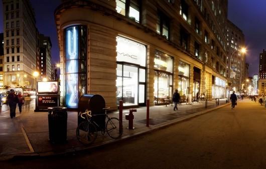 Фотообои ночной Нью-Йорк