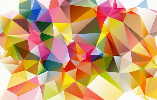 Фотообои Текстура Разноцветных кубов в свете