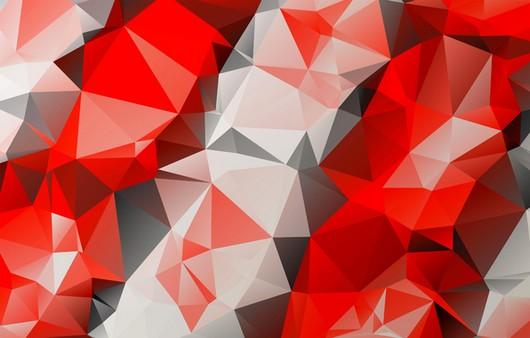 Фотообои Текстура разноцветного света геометрических фигур