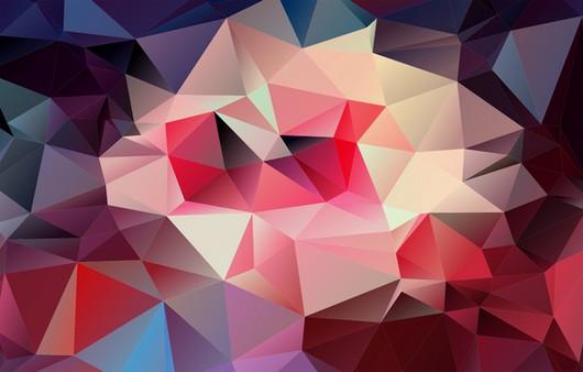 Текстура разноцветного света геометрических фигур