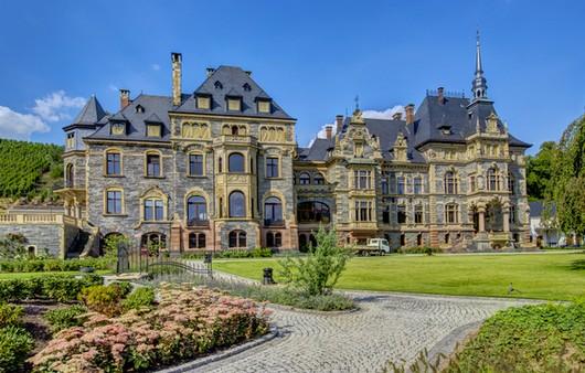 Пейзажи Германии Лазер замок