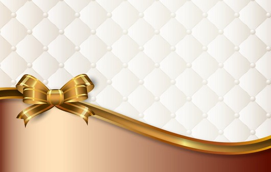 Фотообои Текстура классической обивки и золотого фона