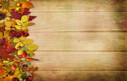 Декор с осенними листьями