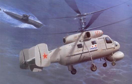 Советский противолодочный вертолёт Ка-25