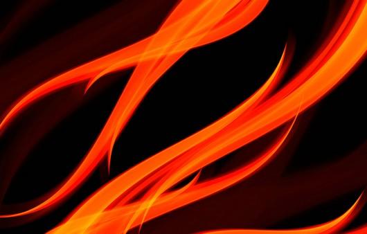 Абстракция рисунок пламя