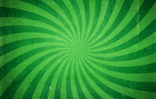 Фотообои Текстура зелёной воронки