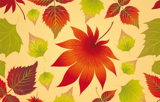 Фотообои Обои осенние листья