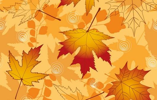 Текстура осенние листья