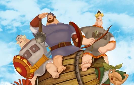 Фотообои Мультфильм три богатыря