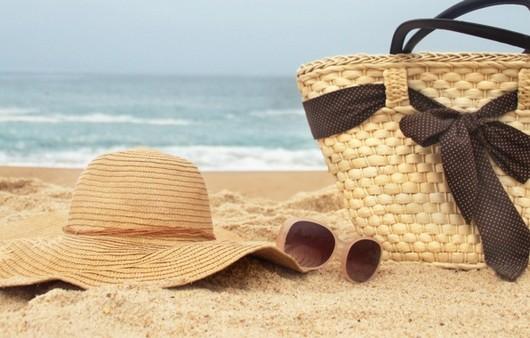 Пляжные принадлежности на пляже