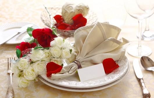 Фотообои Сервировка романтического ужина