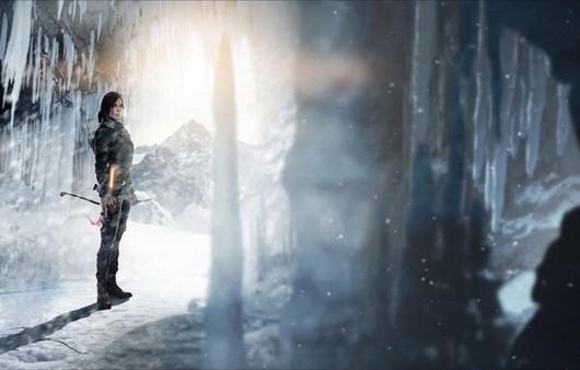 Фантастическая картинка девушки с луком в пещере