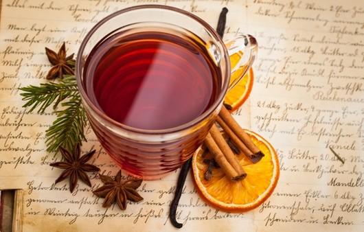 Фотообои Чай с корицей и лимоном