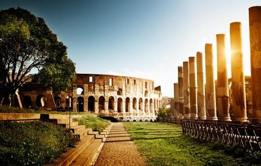 Италия рим Колизей амфитеатр