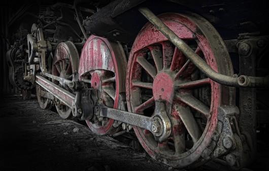Локомотив поезда