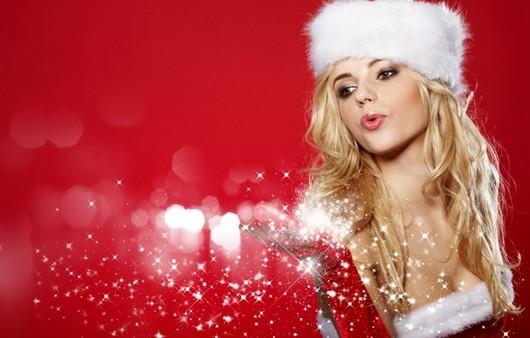Фотообои Рождественская снегурка