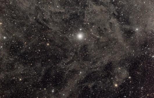 Звёздное небо в мороз