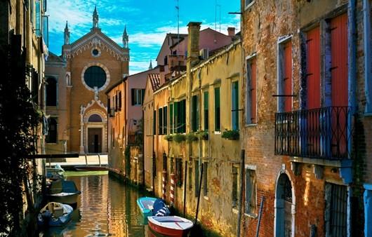 Старинные улицы Венеции