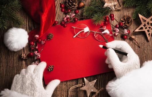 Письмо от Санта Клауса