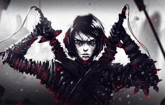 Фантастическая арт картинка парень воин