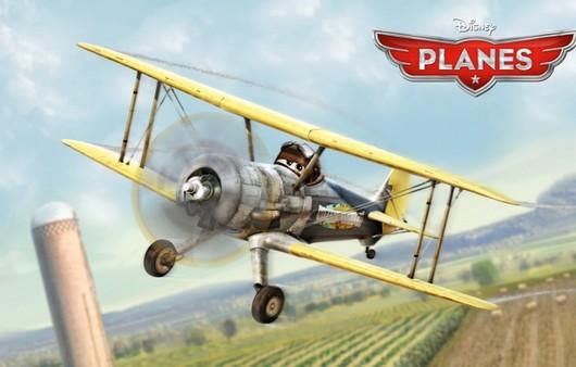 Игрушечный самолётик из мультика