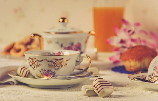 Фотообои Чайный сервиз