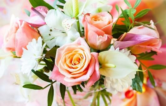 Фотообои Букет невесты