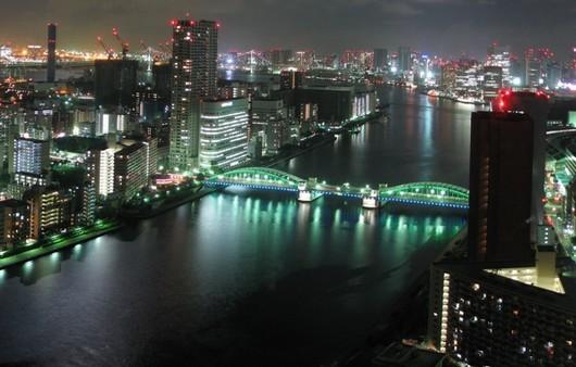 Токио ночной