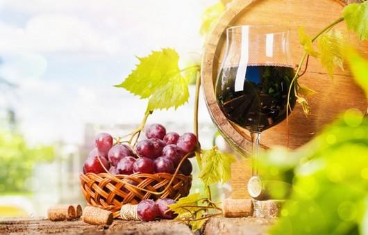 Фотообои Виноградное вино