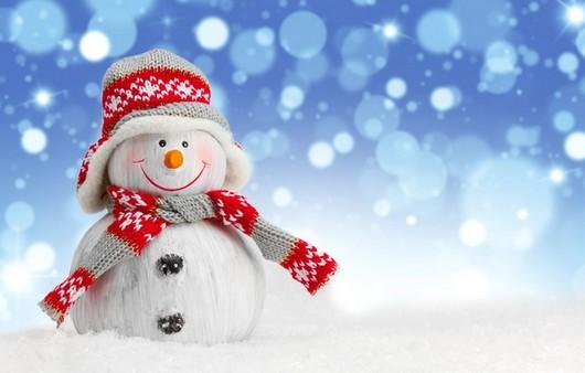 Снеговик в новый год