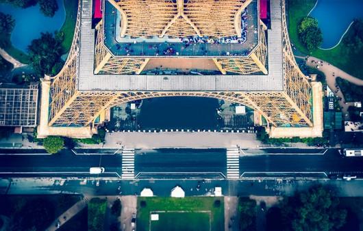 Вид с Эйфелевой башни