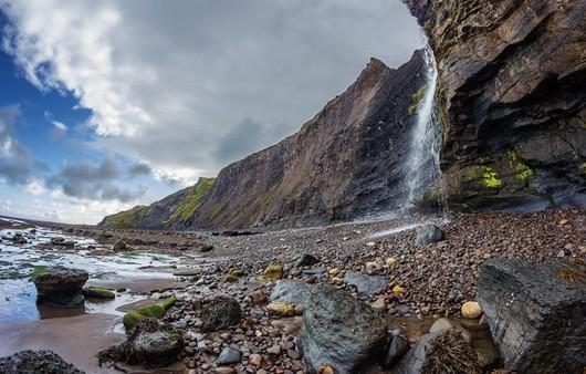 пейзаж скалы
