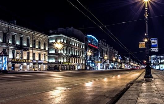 Фотообои город Питер