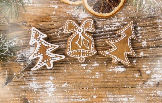 Фотообои Christmas cookies