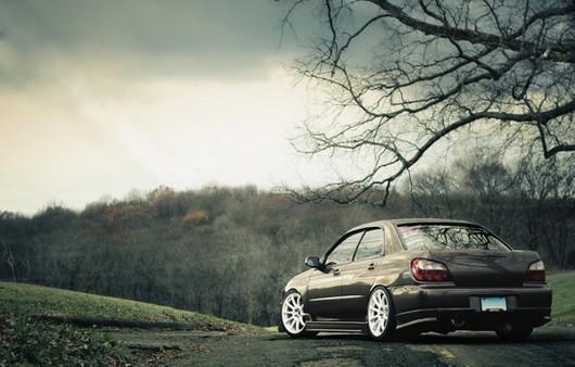 Subaru на природе