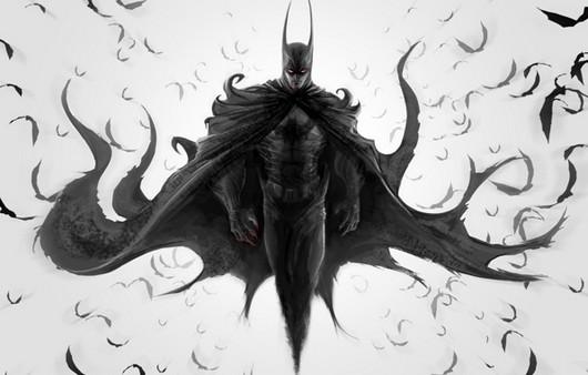 арт batman