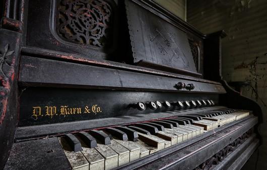 Фотообои Музыкальное пианино