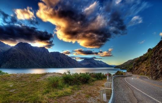 Фотообои пейзаж дороги