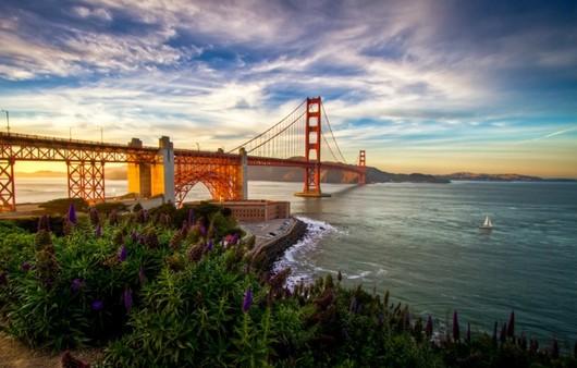 пейзаж моста