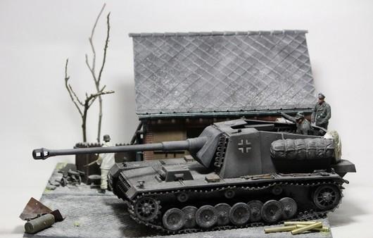 Игрушка противотанковой САУ