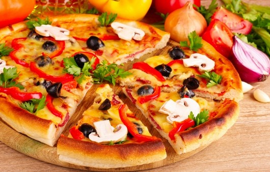 Фотообои начинка pizza
