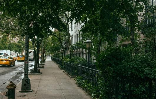 Улица new York