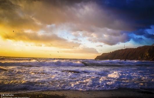 Фотообои Пейзаж японского моря