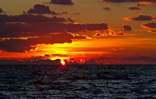 Горизонт моря