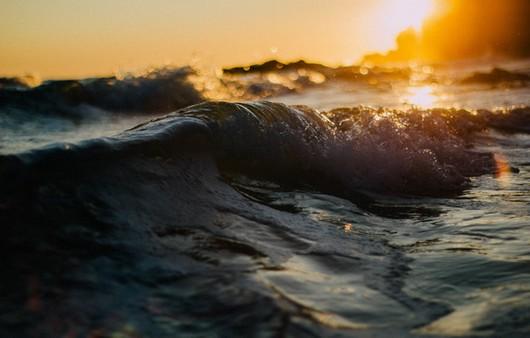 Закат волны