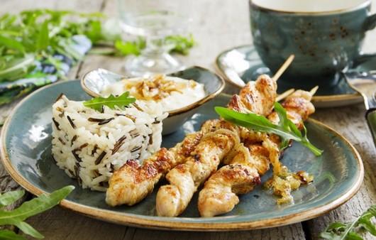 Фотообои barbecue sauce rice